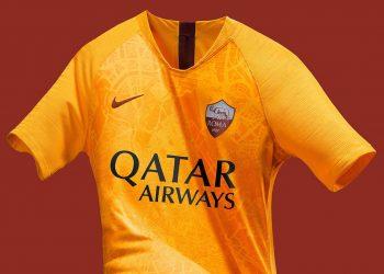 Tercera camiseta de la AS Roma 2018/19 | Imagen Nike
