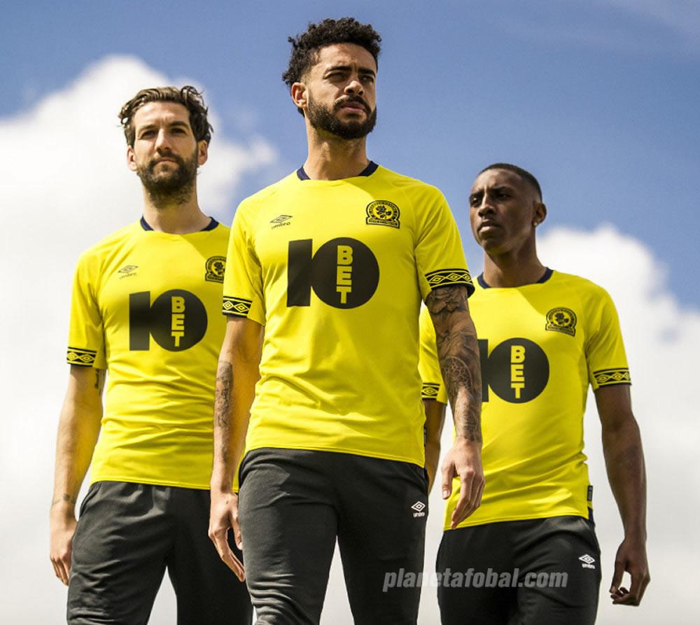 Camiseta suplente Umbro del Blackburn Rovers 2018/19 | Imagen Web Oficial