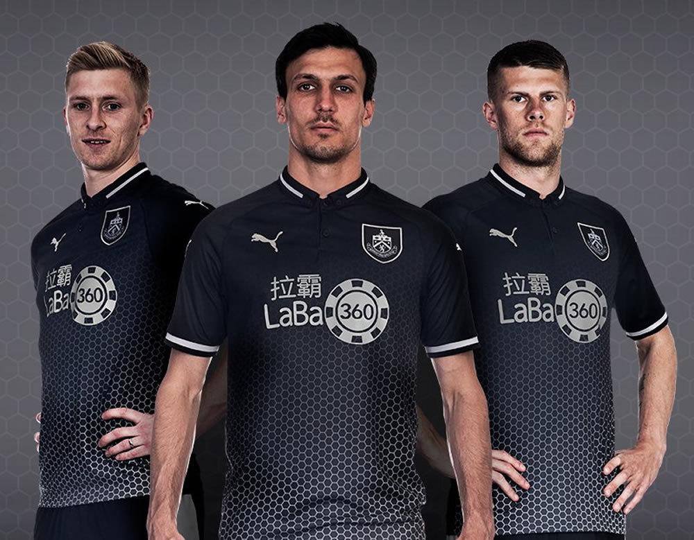 Camiseta suplente Puma del Burnley FC | Imagen Web Oficial