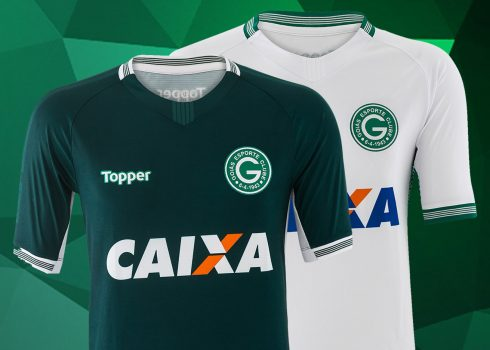Camisetas del Goiás Esporte Clube | Imagen Topper