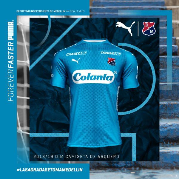Camiseta de porteros 2018/19 de Independiente Medellín | Imagen Gentileza Puma