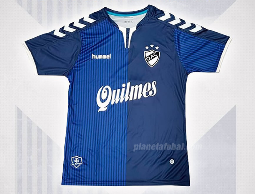 Camiseta alternativa 2018/19 de Quilmes AC | Imagen Hummel