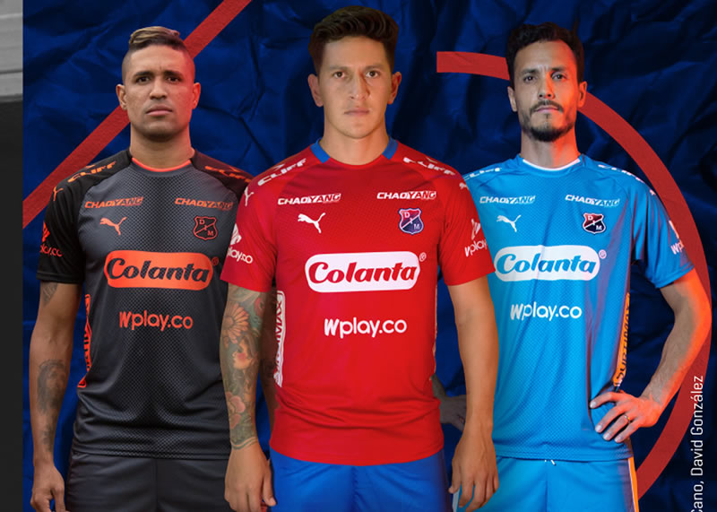 Camisetas 2018/19 de Independiente Medellín | Imagen Gentileza Puma