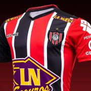 Camiseta titular 2018/19 de Chacarita Juniors | Imagen Kelme