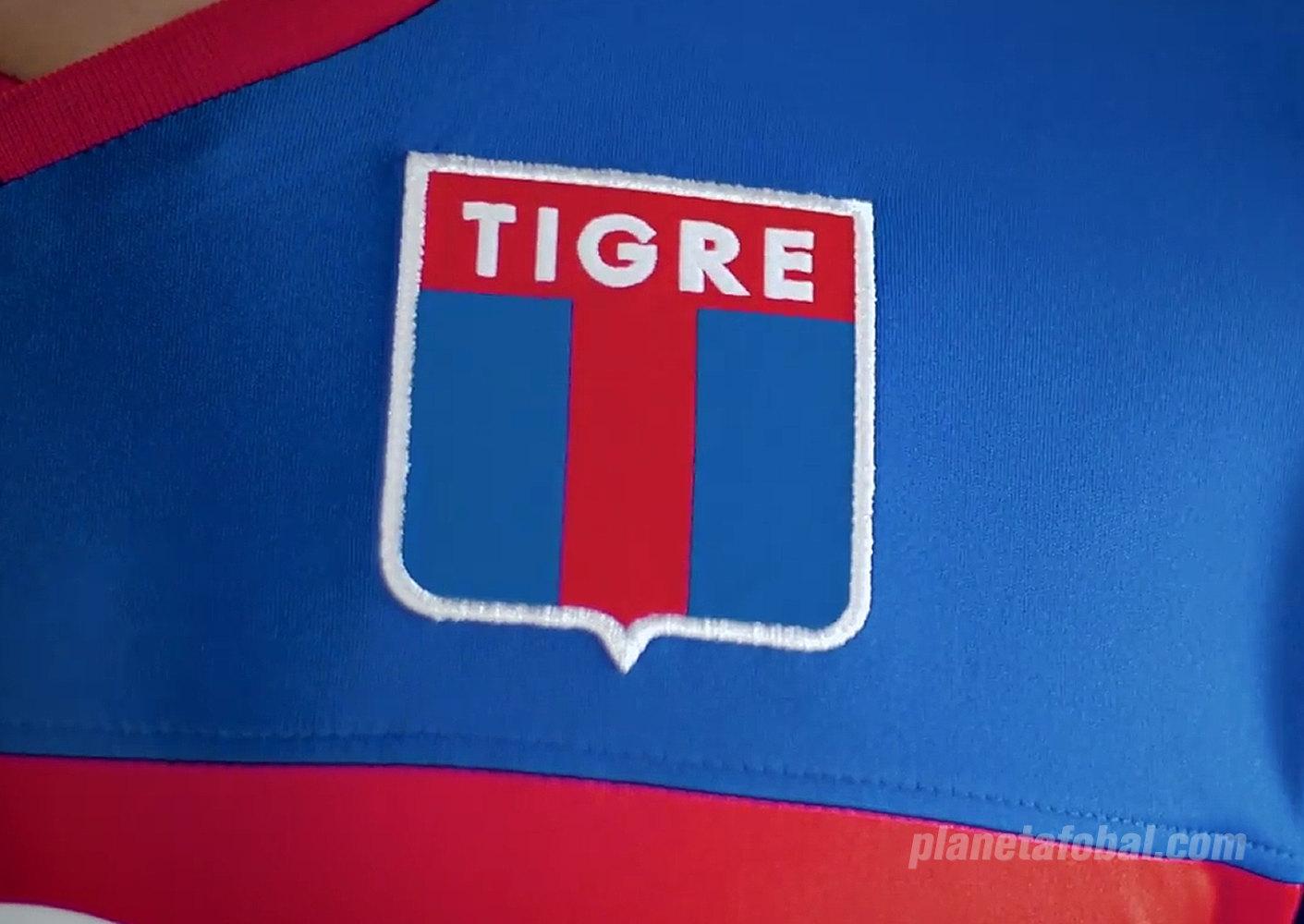 Camiseta titular Joma de Tigre 2018/19 | Imagen Captura