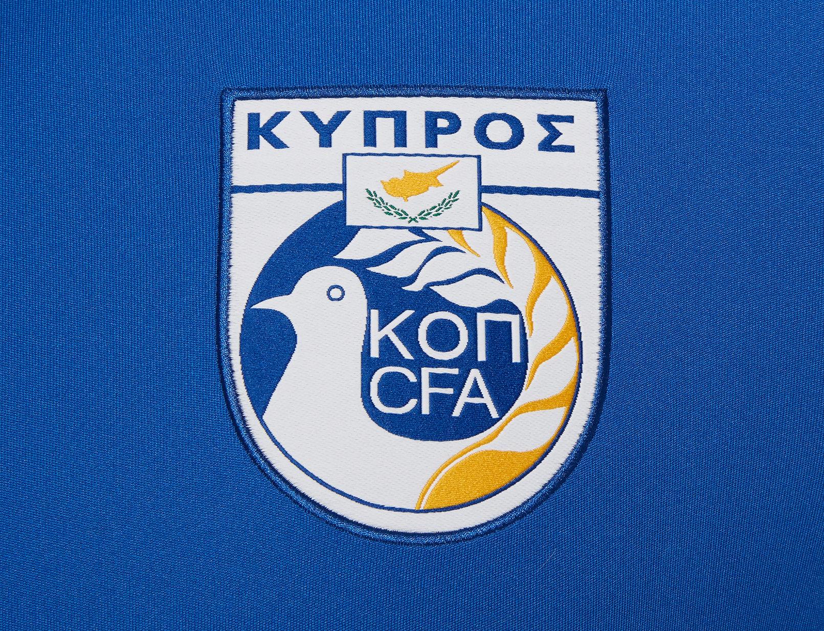 Camiseta titular de Chipre 2018/19 | Imagen Macron