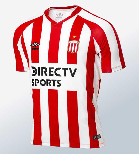 Camiseta titular 2018/19 de Estudiantes de La Plata | Imagen Umbro