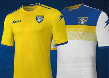 Camisetas Zeus del Frosinone Calcio 2018/19 | Imagen Twitter Oficial