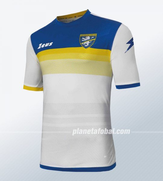 Camiseta suplente Zeus del Frosinone Calcio 2018/19 | Imagen Twitter Oficial