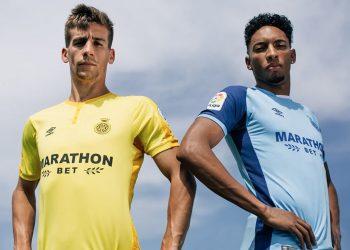 Camisetas alternativas Umbro 2018/19 del Girona FC | Imagen Web Oficial