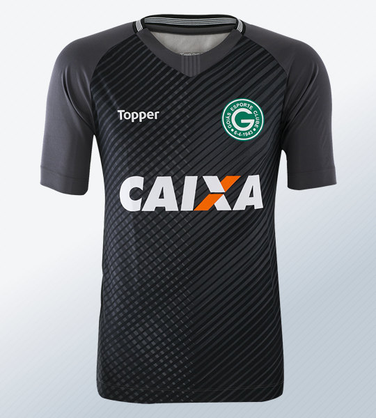 Camiseta de arquero del Goiás Esporte Clube | Imagen Topper