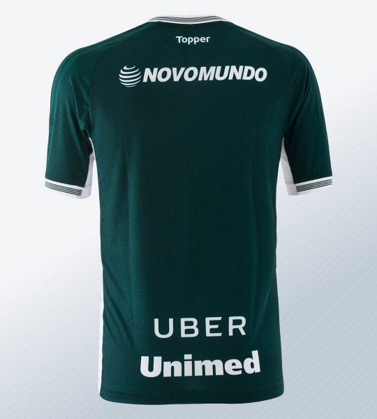 Camiseta titular del Goiás Esporte Clube | Imagen Topper