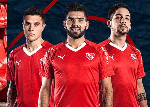 Camiseta titular Puma de Independiente 2018/19 | Imagen Web Oficial