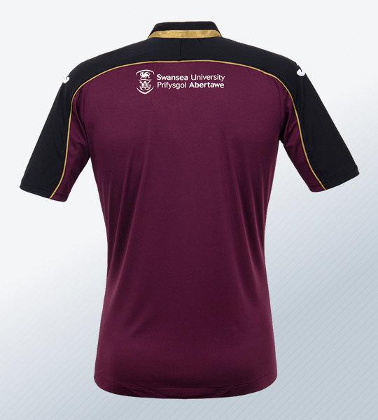 Tercera camiseta Joma del Swansea City | Imagen Web Oficial
