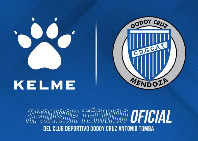 Kelme nuevo sponsor técnico de Godoy Cruz | Imagen Twitter Oficial