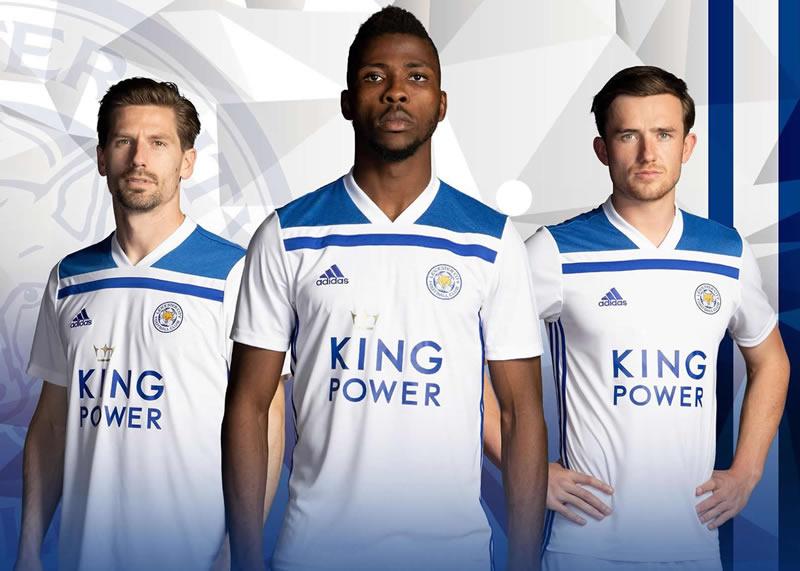 Tercera camiseta Adidas del Leicester City | Imagen Web Oficial