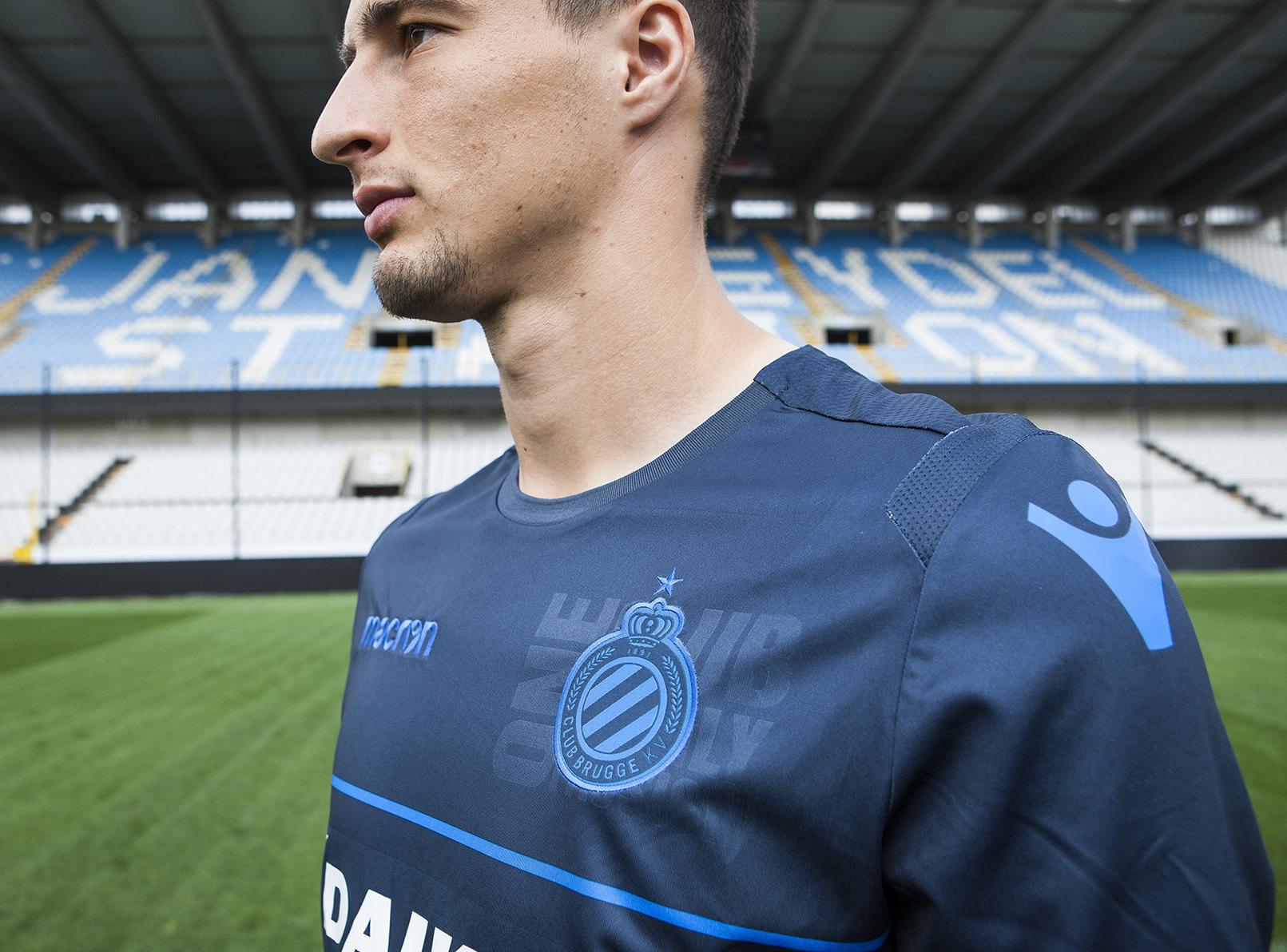 Camiseta UCL Macron del Club Brugge | Imagen Web Oficial