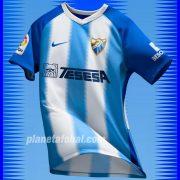 Camiseta titular Nike 2018/19 del Málaga CF | Twitter Oficial