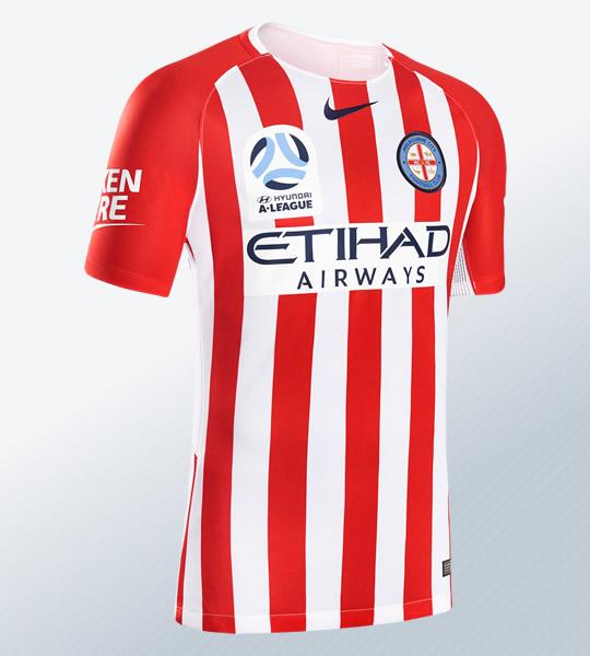 Camiseta suplente del Melbourne City 2018/19 | Imagen Web Oficial
