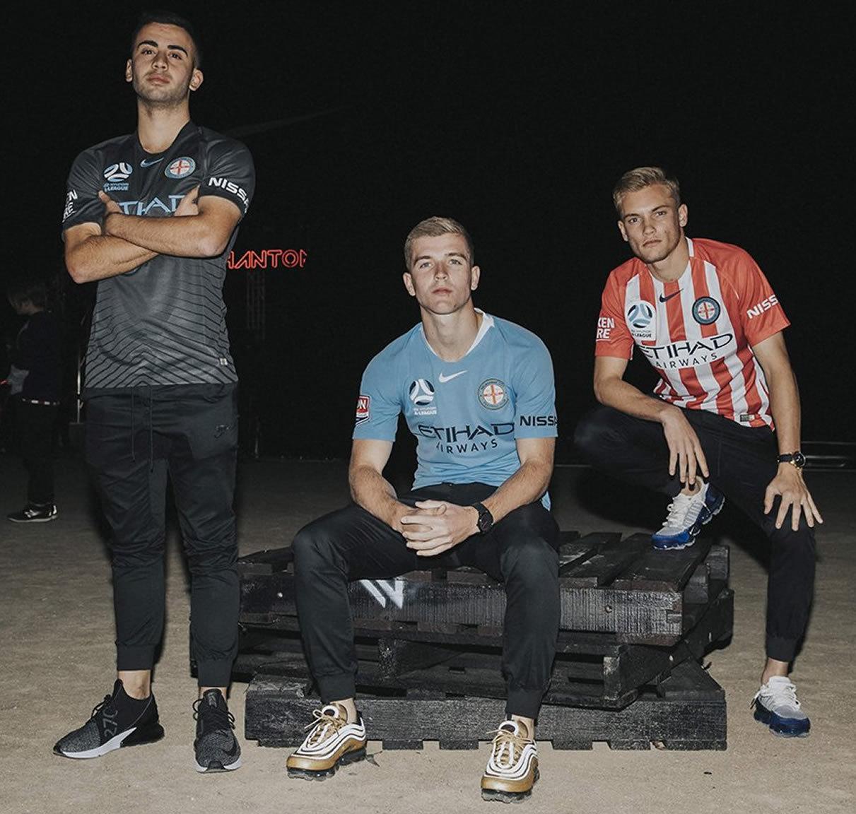 Camisetas del Melbourne City 2018/19 | Imagen Web Oficial