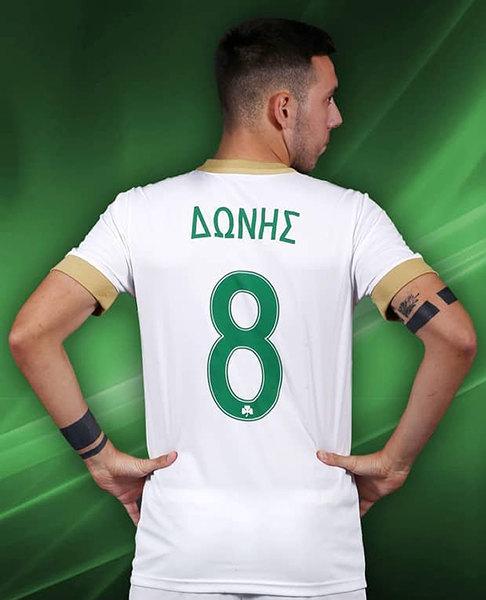 Camiseta alternativa blanca Nike 2018/19 del Panathinaikos | Imagen Web Oficial