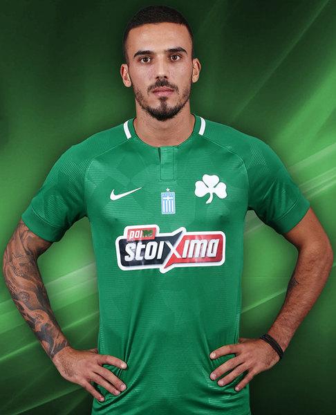 Camiseta titular Nike 2018/19 del Panathinaikos | Imagen Web Oficial
