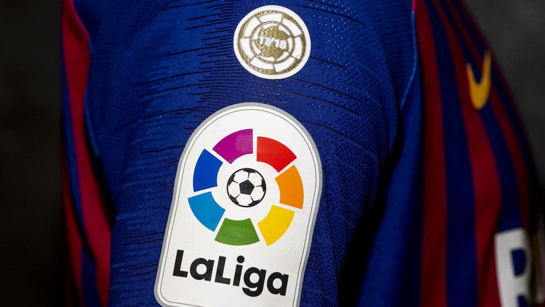 Mordrin proyector Dependencia  El Barcelona estrenará parche de campeón en LaLiga