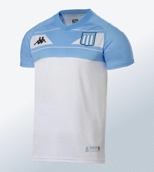 Camiseta conmemorativa Kappa de Racing 2018 | Imagen Web Oficial