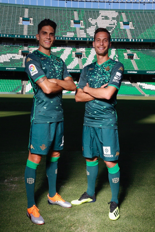 Segunda equipación Kappa del Real Betis 2018/19 | Imagen Twitter Oficial