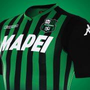 Camiseta titular 2018/19 del Sassuolo | Imagen Kappa
