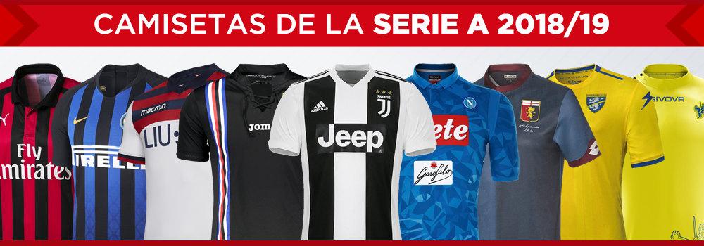 Camisetas de la Serie A 2018/19