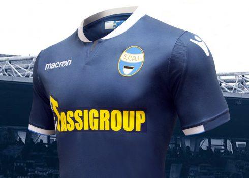 Tercera camiseta del SPAL Ferrara 2018/19 | Imagen Macron