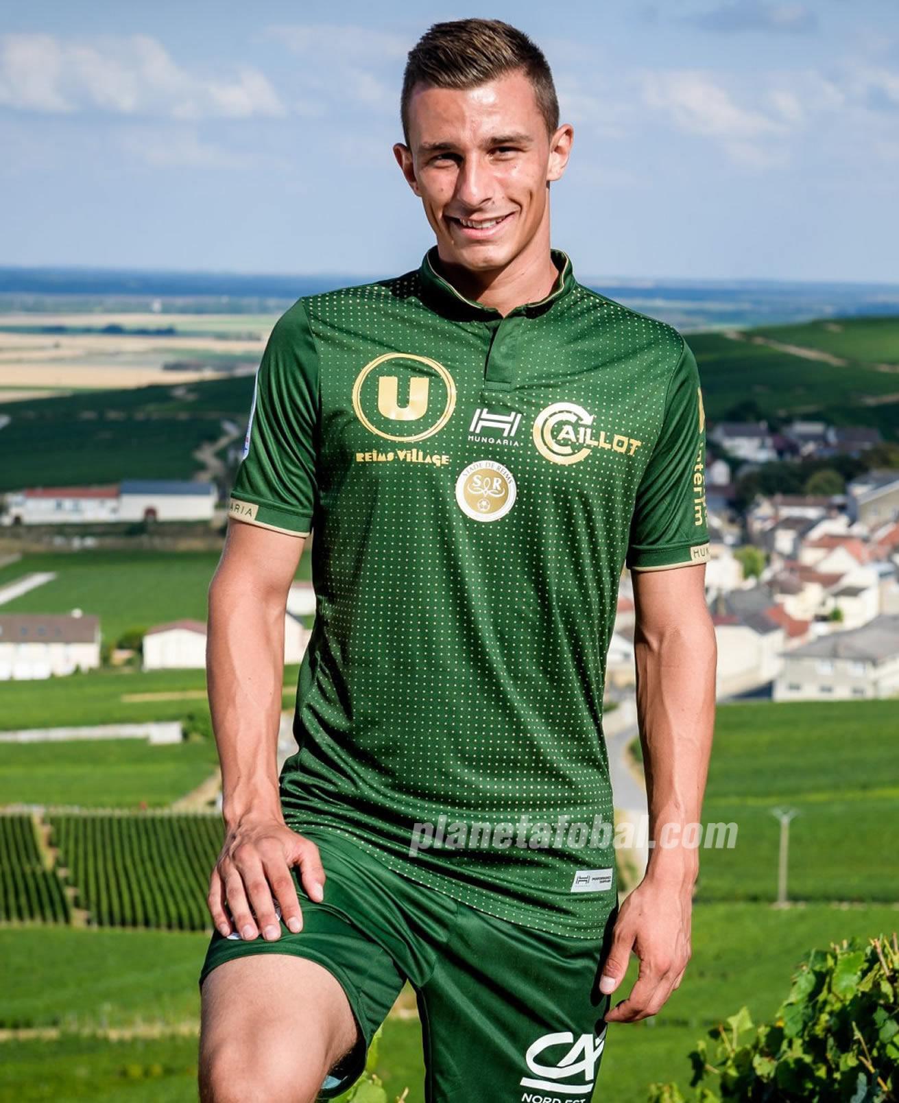 Camiseta suplente Hungaria del Stade de Reims | Imagen Web Oficial