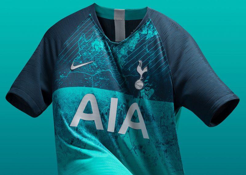 Tercera camiseta Nike 2018/19 del Tottenham | Imagen Web Oficial