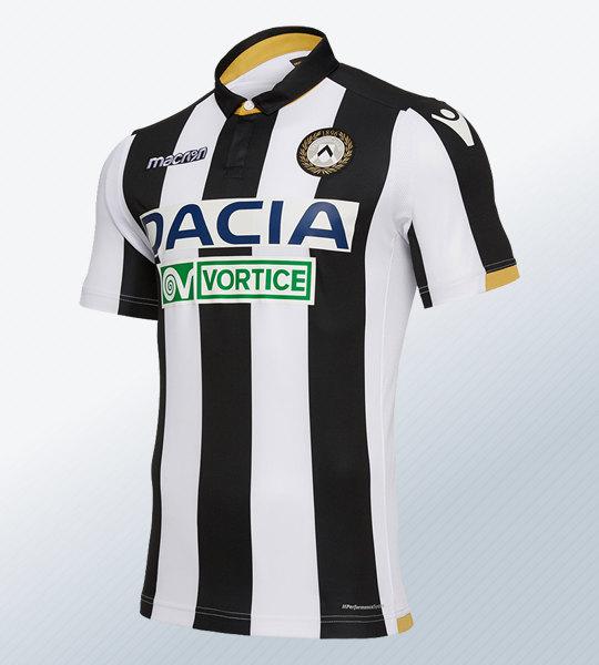 Camiseta titular Macron del Udinese Calcio 2018/19 | Imagen Web Oficial
