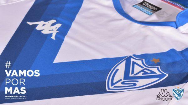 Camiseta titular de Velez 2018/19 | Imagen Kappa