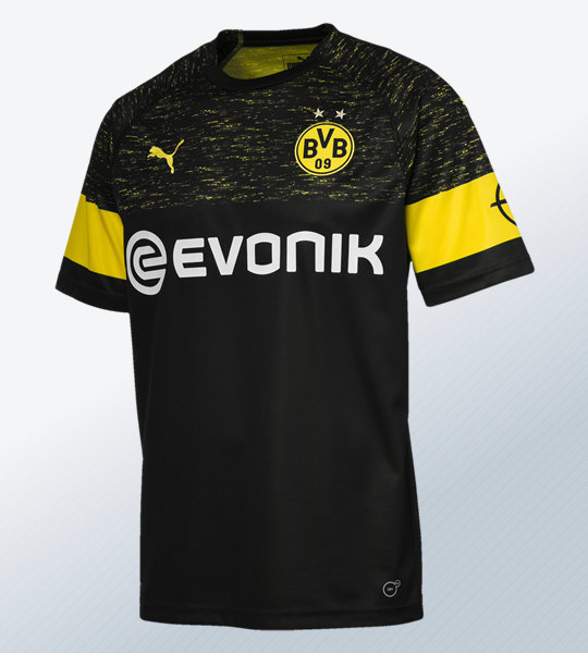 Camiseta suplente 2018/19 del Borussia Dortmund | Imagen Puma