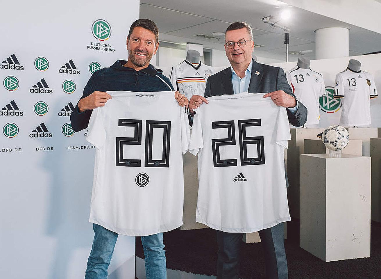 Alemania continuará con Adidas hasta 2026   Imagen DFB