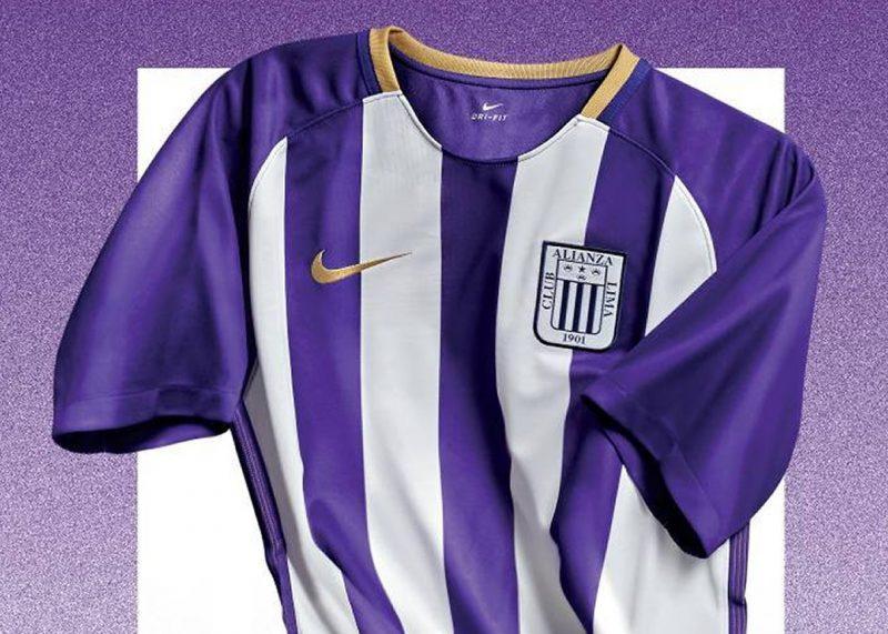 """Camiseta Nike """"blanquimorada"""" de Alianza Lima 2018  e80fd8bf331ac"""