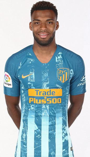 Lemar con la tercera camiseta del Atlético de Madrid 2018/19 | Imagen Web Oficial