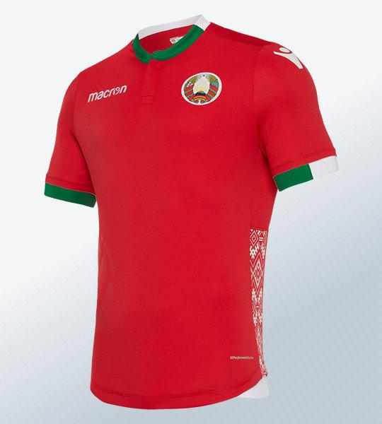 Camiseta suplente 2018/19 de Bielorrusia | Imagen Macron