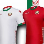 Camisetas 2018/19 de Bielorrusia | Imagen Macron