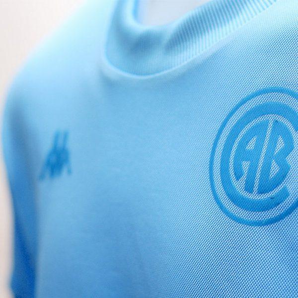 "Camiseta Kappa de Belgrano ""Homenaje 1968"" | Imagen Web Oficial"