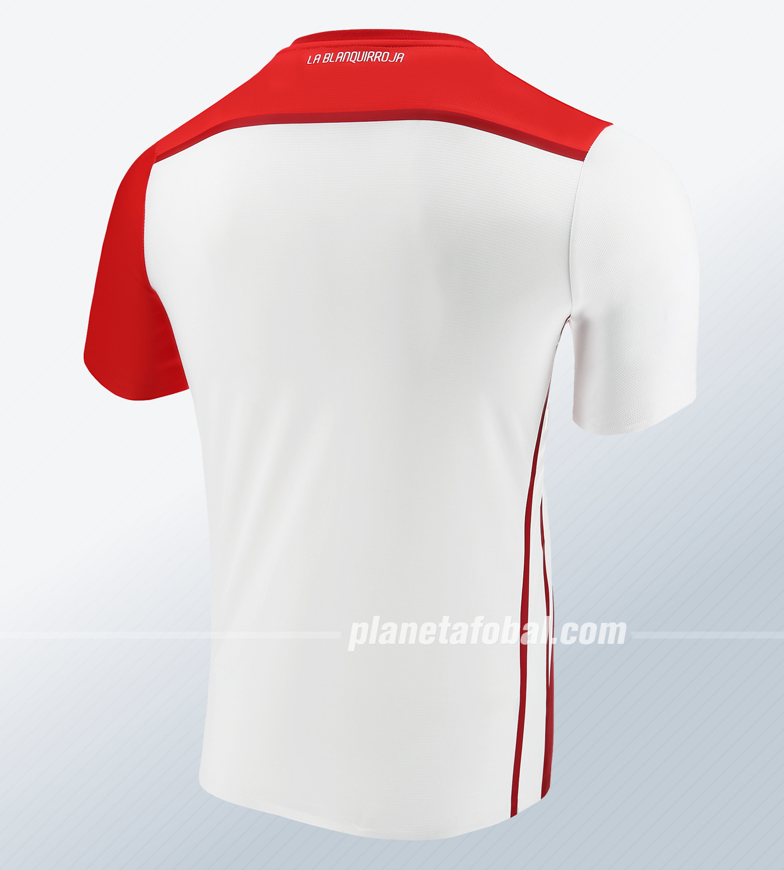 Camiseta titular de Perú 2018/19 | Imagen Marathon Sports