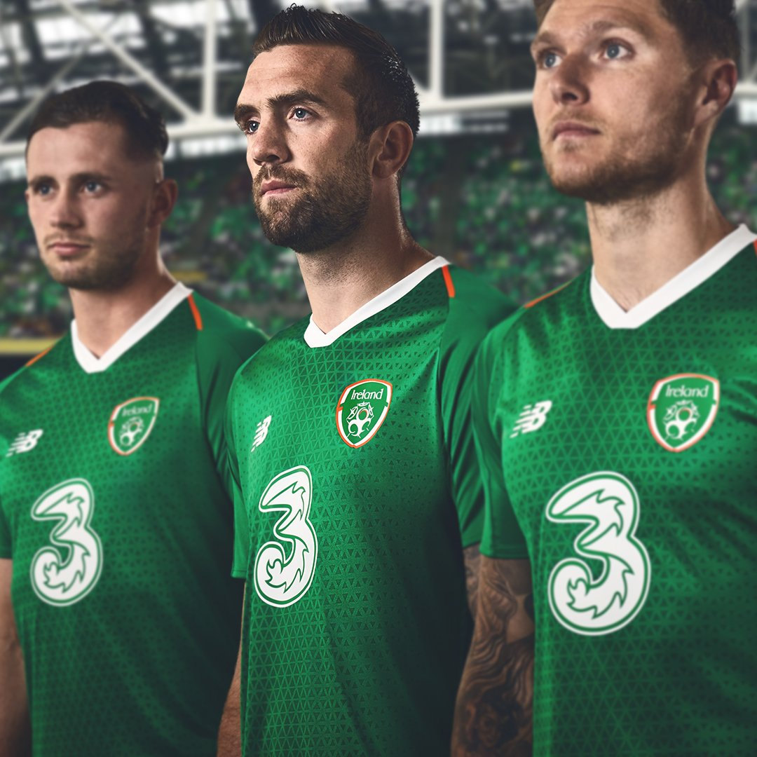 Camiseta titular de Irlanda 2018/19 | Imagen New Balance