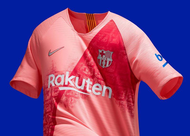 Tercera camiseta del Barcelona 2018/2019 | Imagen Nike
