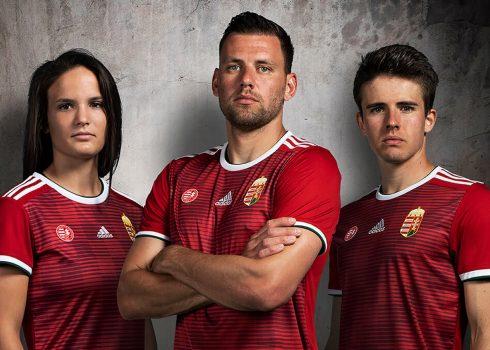 Camiseta titular Adidas de Hungría 2018/19 | Imagen MLSZ