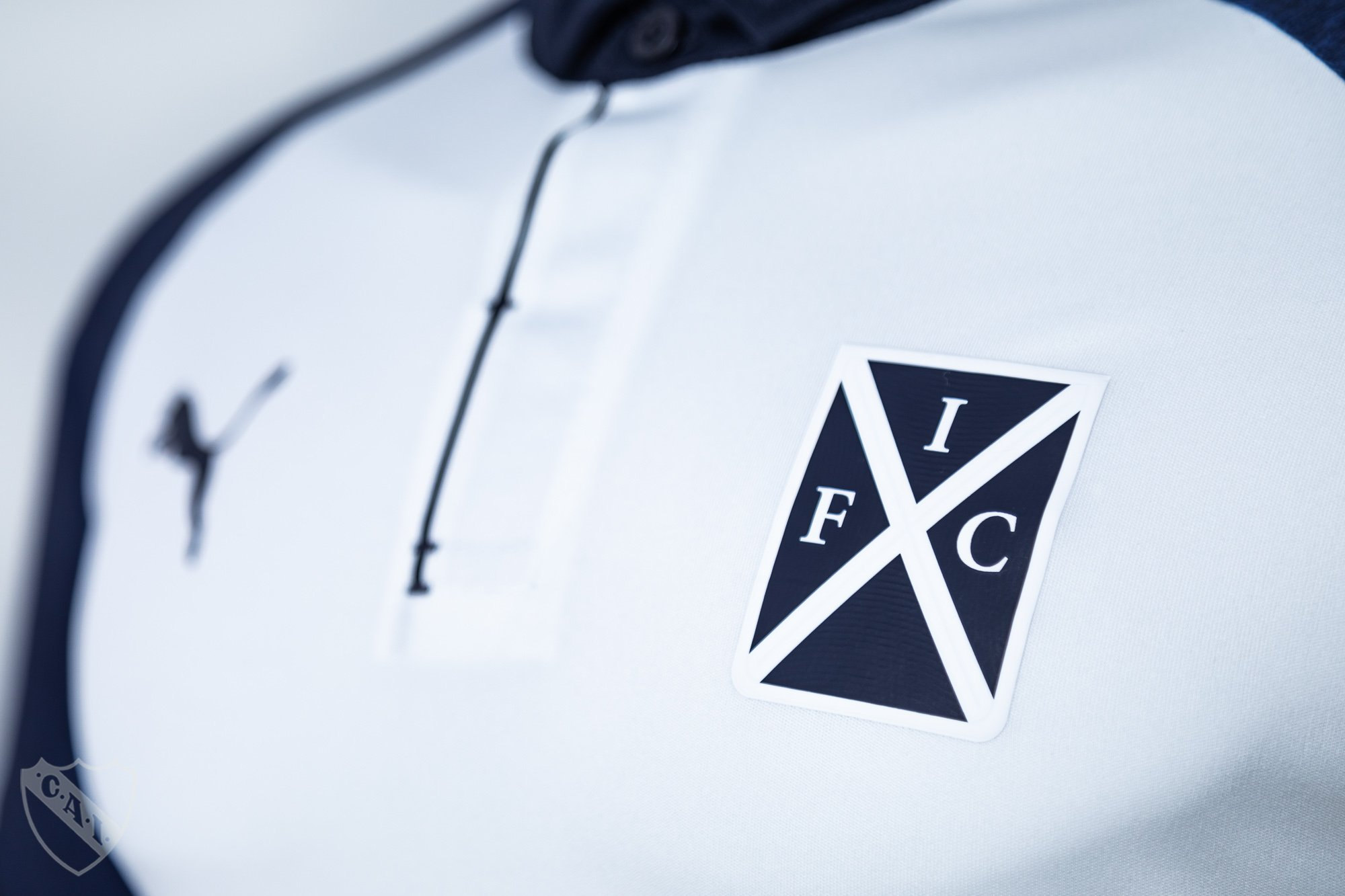 Camiseta alternativa blanca de Independiente 2018/2019 | Imagen Web Oficial