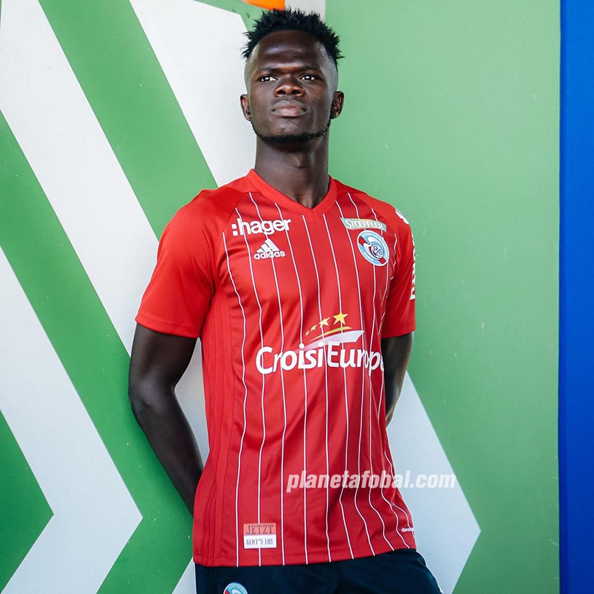 Tercerca camiseta Adidas del RC Strasbourg Alsace 2018/19 | Imagen Web Oficial