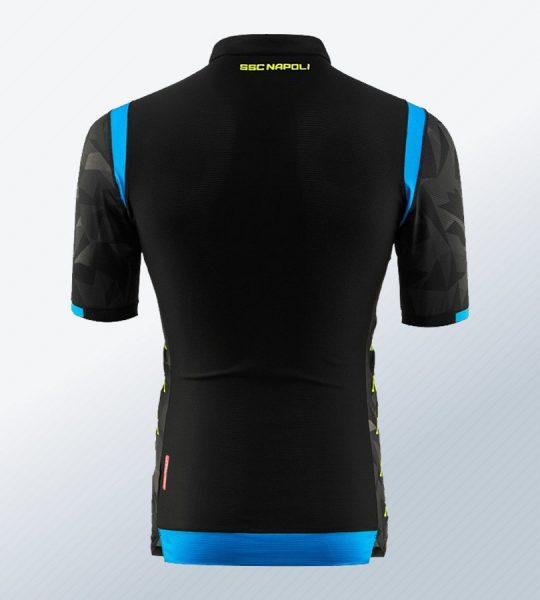 Camiseta suplente Kappa del Napoli UCL 2018/19 | Imagen Web Oficial
